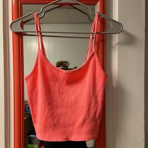 Brand new hot pink crop top